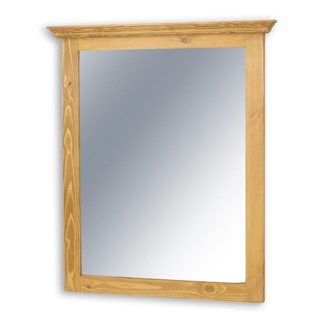 Rustykalne lustro z wieńcem COS03