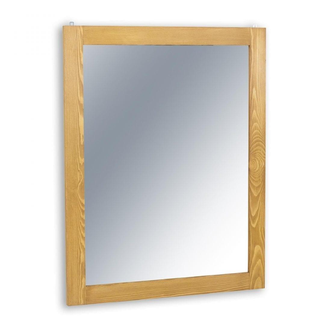 sosnowe lustro do przedpokoju