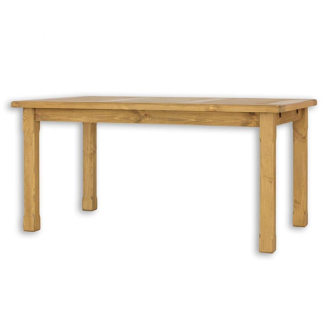 Drewniany stół woskowany MES02