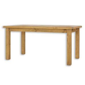 woskowany stół z drewna sosnowego