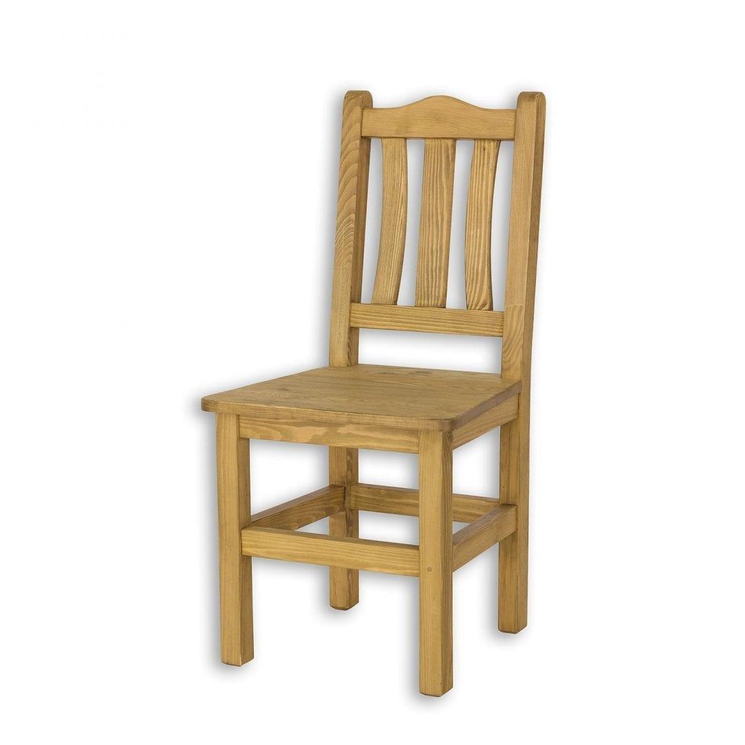 Drewniane krzesło do kuchni SIL05