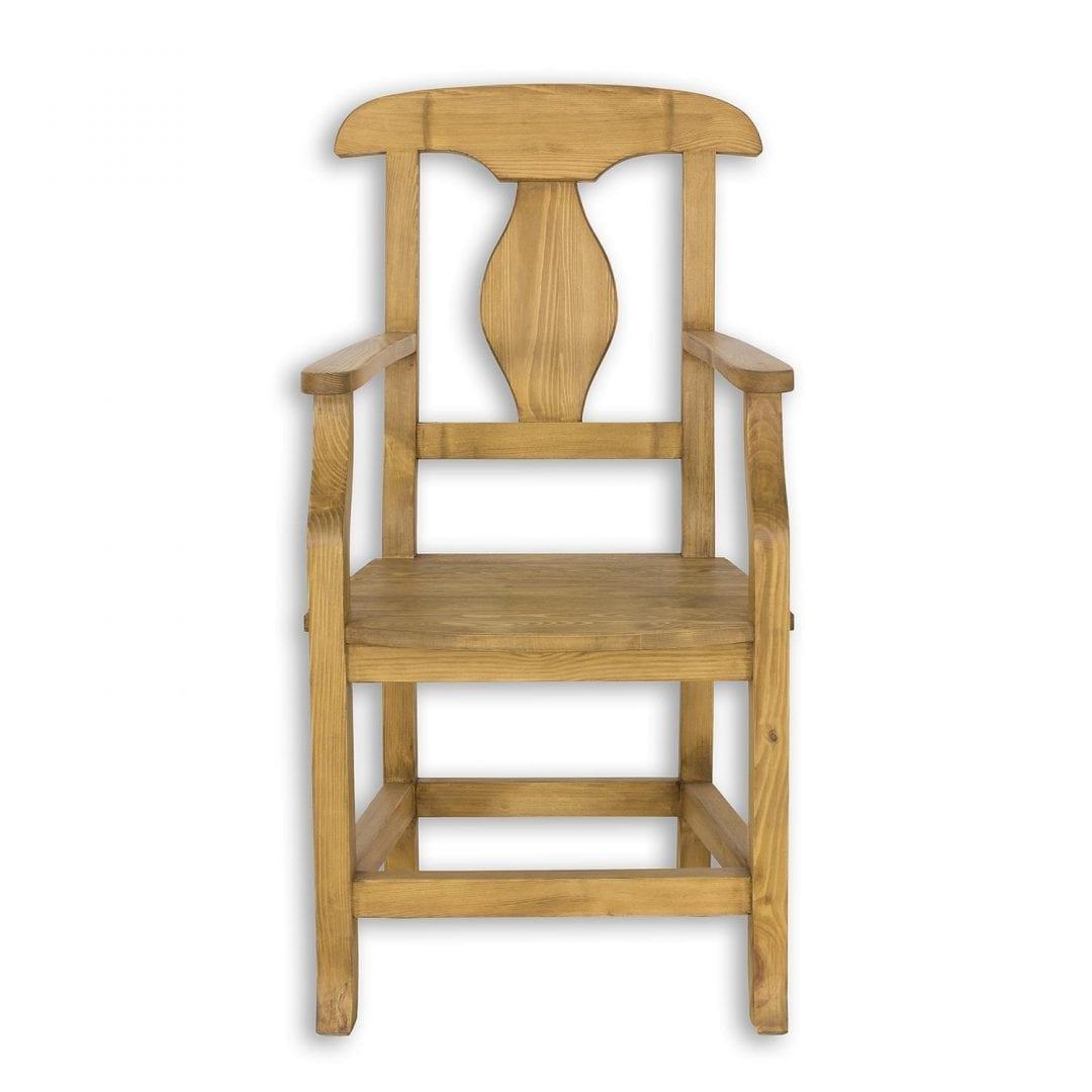Drewniany fotel SIL11