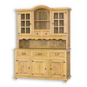 drewniany kredens kuchenny woskowany