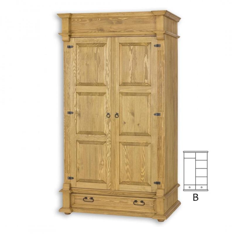 Szafa z litego drewna SZY04/B