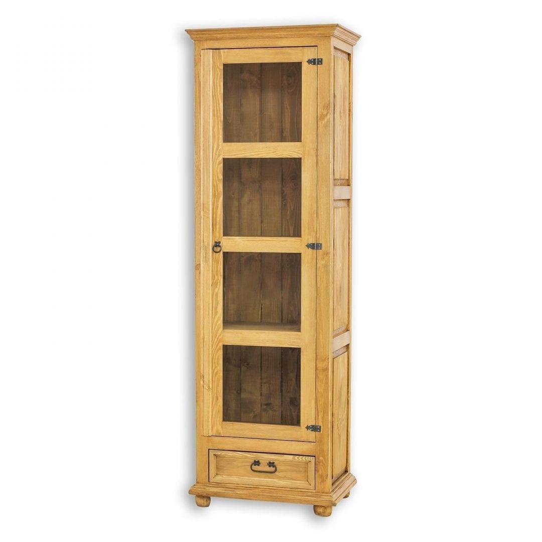 Drewniana witryna jednodrzwiowa VIT16
