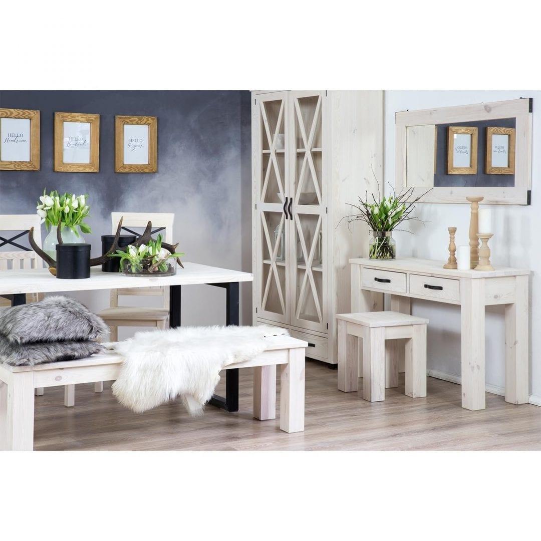 Drewniana ławka SEL17