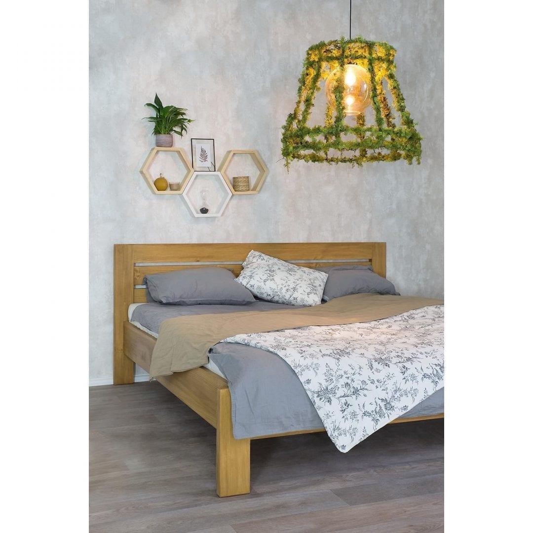 Drewniane łóżko ACC06