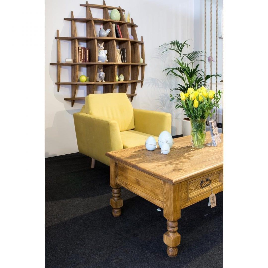 stół do salonu sosnowy