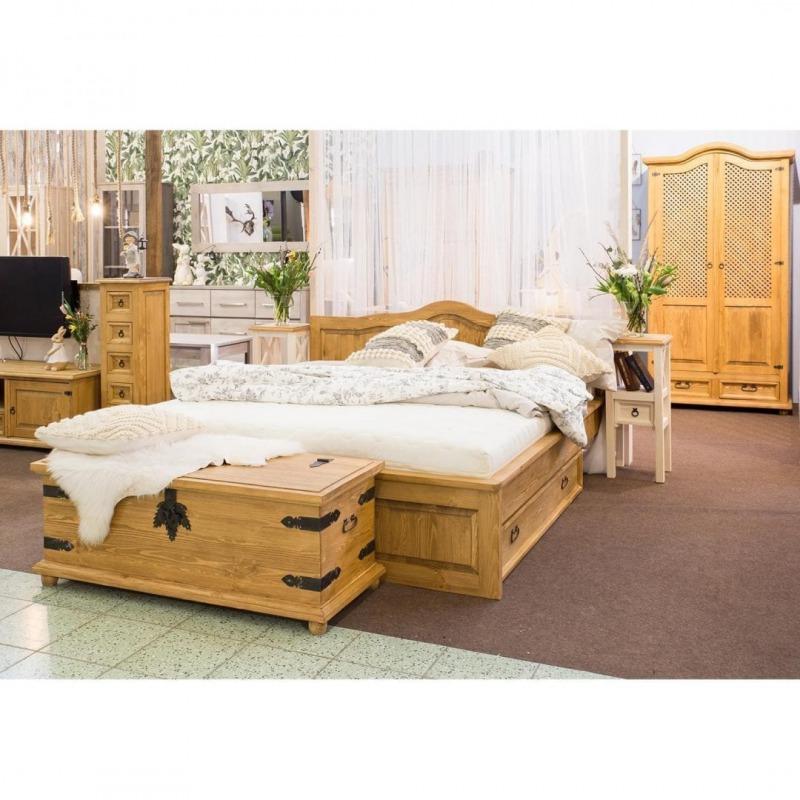 Drewniany kufer COS05