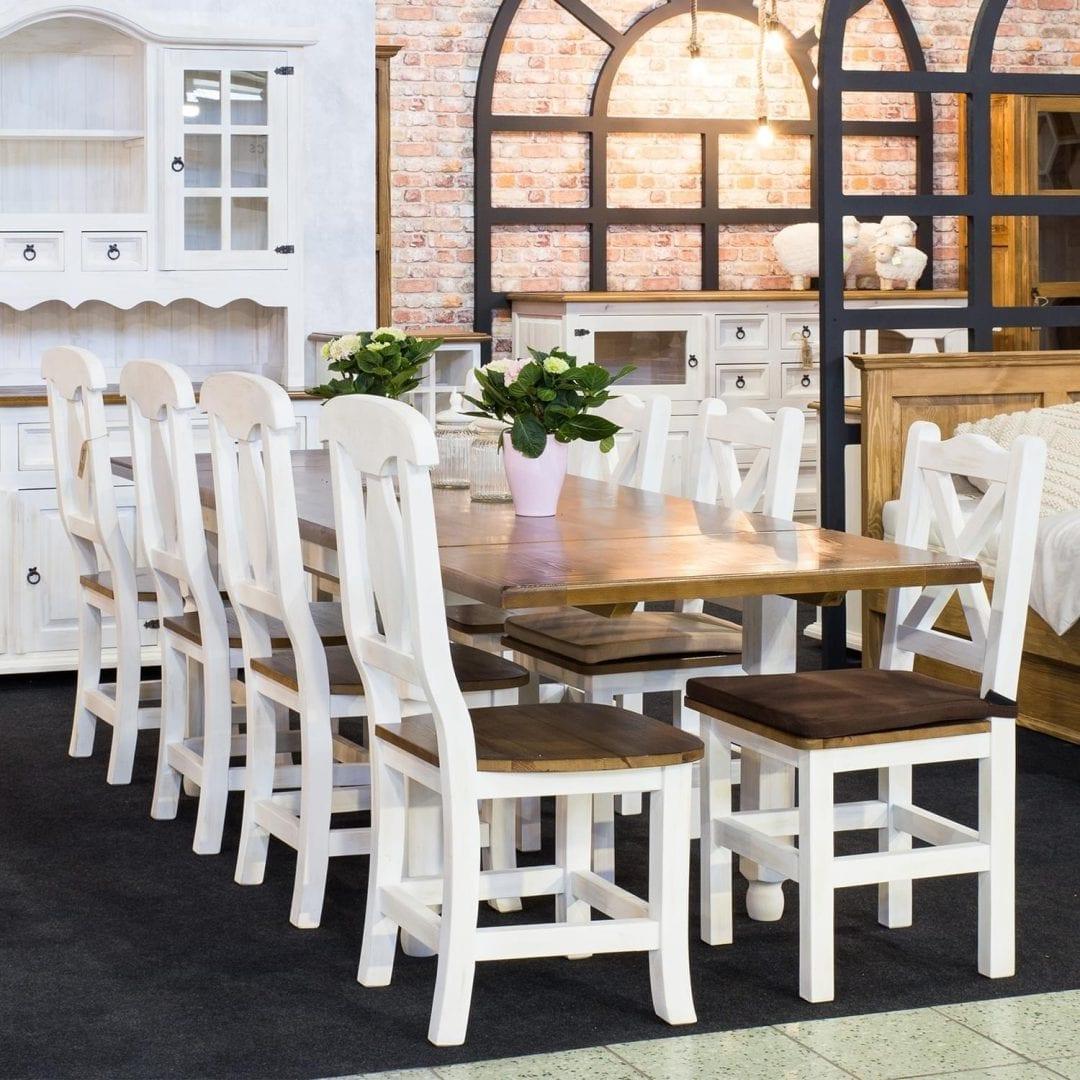 Krzesło kuchenne SIL03 - BIANCO